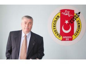 Kapadokya Gazeteciler Cemiyet Başkanı Osman Koca: