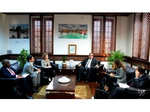 IMF heyetinden KKTC Turizm Bakanlığı'na ziyaret