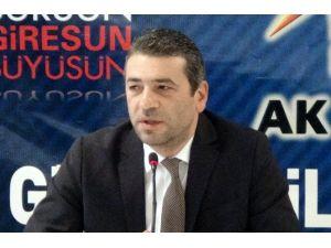 AK Parti Giresun İl Başkanı Tütüncü Ankara'daki Terör Saldırısını Kınadı