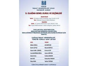 İMO'da Genel Kurul Ve Seçim Heyecanı