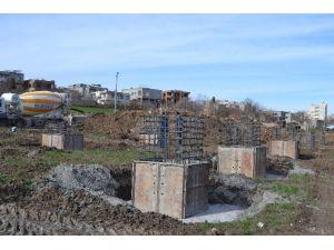 Kahta İlçesinde Yeni Mezbahana Binası Temeli Atıldı