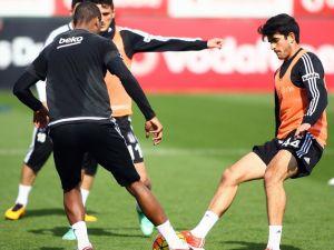 Beşiktaş'ta, Gençlerbirliği maçının hazırlıkları başladı