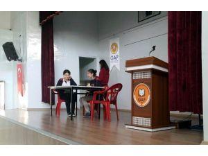 GKV'liler GAP Görme Engelliler İlkokulunu Ziyaret Etti
