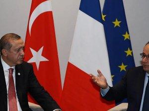 Hollande'dan Erdoğan'a taziye telefonu