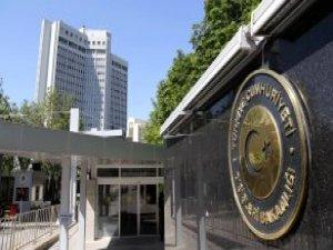 Ankara'da Büyükelçiler Dışişleri'ne Çağırıldı