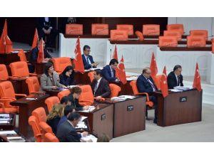 MHP'den Meclis'te Teröre Türk Bayraklı Tepki