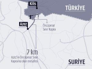 Azez son durum 2 bin kişi sınırı geçti iddiası