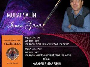 """Tarih Öğretmeninden """"Yezidi"""" Kitabı"""