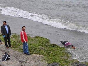 Sahilde kadın cesedi bulundu