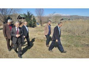 Başkan Özdemir Kır Lokantasını İnceledi
