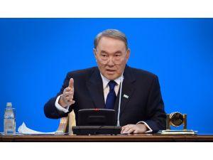 Nazarbayev'den Ankara'ya taziye mesajı