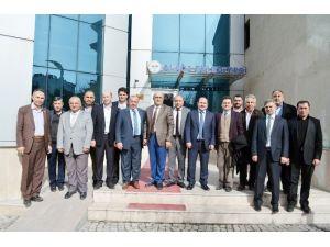 Mamak Sanayici Ve İş Adamları Derneği'nden Eyvaz'a Ziyaret