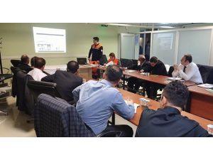 AFAD'dan Teski Personeline Acil Durum Ve Tahliye Eğitimi