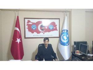 Türk Eğitim-sen Ağrı Şubesi'nden Terör Saldırısına Kınama