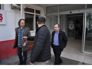 Samsun'daki operasyonda gözaltına alınanlar sağlık kontrolüne götürüldü