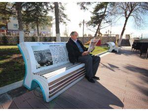 Konuşan Banklar Beyşehir Turizmine Rehberlik Ediyor