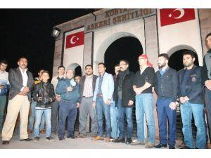 Konya'da Ankara Ve Diyarbakır'daki Terör Olaylarına Tepki