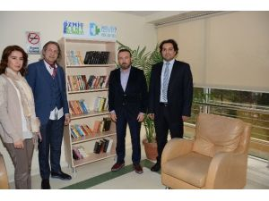 Hastanelerde Kitaplık Projesi Başladı