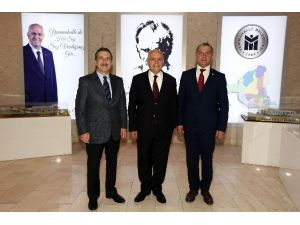 Tepebaşı Belediye Başkanı Ataç'tan Yenimahalle Belediyesi'ne Ziyaret
