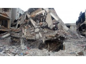 Cizre'deki ikinci bodrum görüntülendi