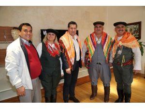 Bodrum Yörük Obası Derneği'nden Başkan Kocadon'a Ziyaret