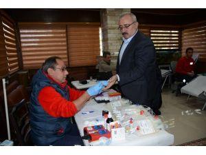 Mardin Emniyeti'nden Kan Bağışı