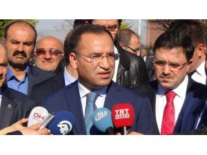 """Bakan Bozdağ: """"HDP Bildiriye İmza Atmayarak Kendine Yakışanı Yapmıştır"""""""