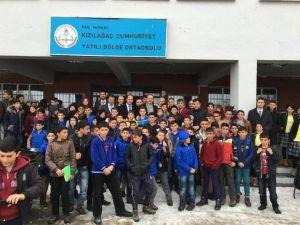 Vali Yavuz'dan Kızılağaç Beldesine Ziyaret