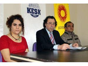KESK'e 'Neden Kahrolsun PKK Demiyorsunuz?' Sorusu