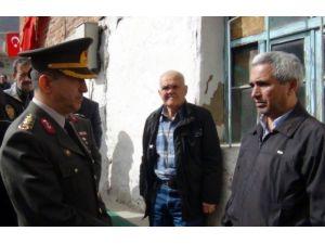 Kütahya İl Jandarma Komutanından Şehit Ailesine Taziye