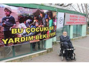 Engelliler Suriyeli Çocuklar İçin Yardım Kampanyası Başlattı