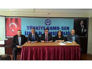 Türkiye Kamu Sen: Terörü ve teröristi lanetliyoruz