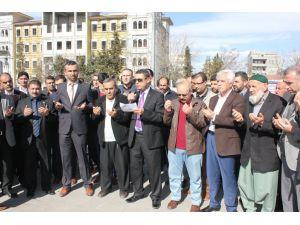 Terör Kahta'da protesto edildi