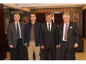 Başkan Akdoğan, Adana Ve Mersin'den Gelen Konukları Ağırladı