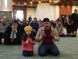 Beştepe Millet Camii'nde Şehitlerin Ruhu İçin Hatm-i Şerif Duası