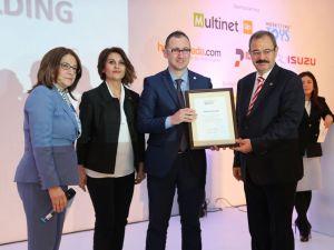 Naksan Holding'e marka ve itibar ödülü
