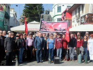Emekli Subaylar'dan Teröre Tepki Eylemi