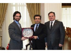 Macaristan Başkonsolosu'ndan Vali Güzeloğlu'na Ziyaret