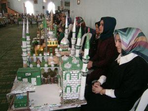 """Bolvadin'de En Güzel """"Cami Maketleri"""" Yarıştı"""