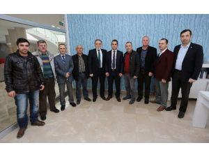 Uçuş Kulübü'nden Usta'ya Ziyaret