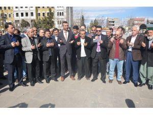 Kahta'da, STK'lar Terörü Protesto Etti