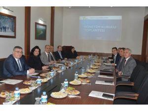 Trakyaka 2016 Şubat Ayı Yönetim Toplantısı Kırklareli'nde Yapıldı