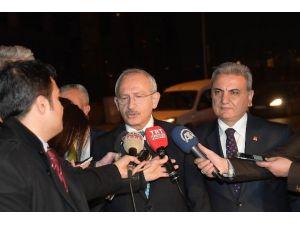 CHP Genel Başkanı Kılıçdaroğlu, Yaralıları Ziyaret Etti