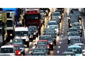 Aydın'da Araç Sayısı 387 Bine Ulaştı