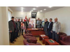 AK Parti Çan İlçe Teşkilatından Başkan Göymen'e Ziyaret