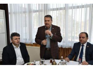 Başkan Çerçi Rumeli Ve Balkan Göçmenleriyle Biraraya Geldi