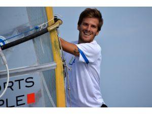 Rüzgar sörfü dünya şampiyonası başladı