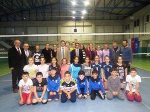 Amasra Kaymakamı Eser, Şampiyonları Kutladı