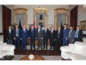 KAYSO'dan 11. Cumhurbaşkanı Gül'e Ziyaret