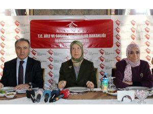 Bakan Sema Ramazanoğlu STK'larla Buluştu